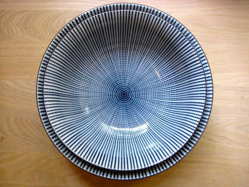 """Ramen-schale """"Blaustrich"""" ø 21,2 cm x H 8,3 cm"""