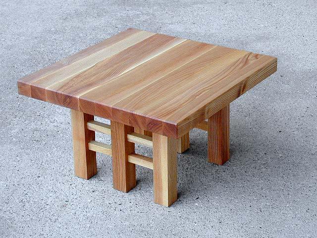6-Fuß-Tisch, Esche natur, unbehandelt