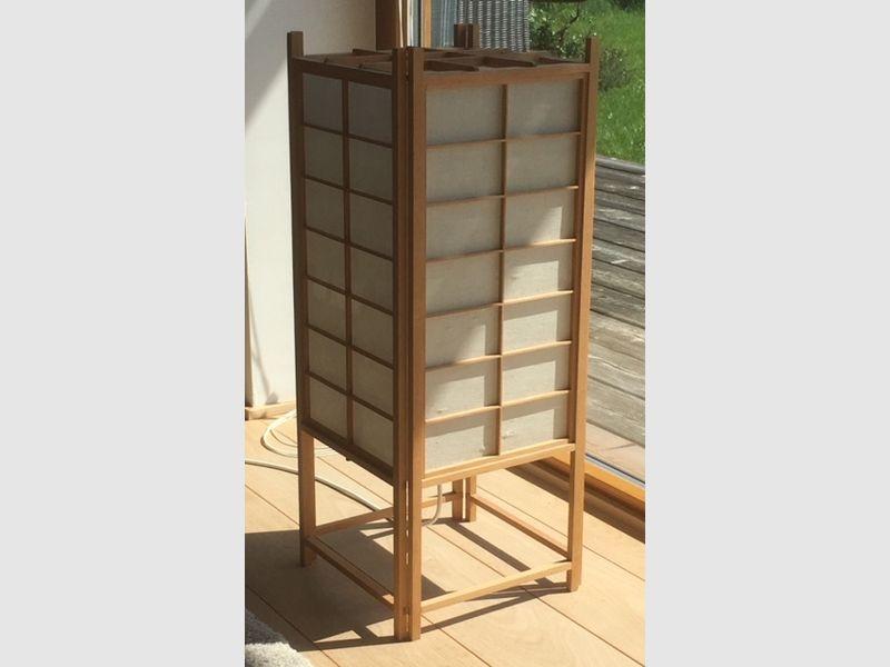 Shoji-Stehleuchte, natur, 75 cm