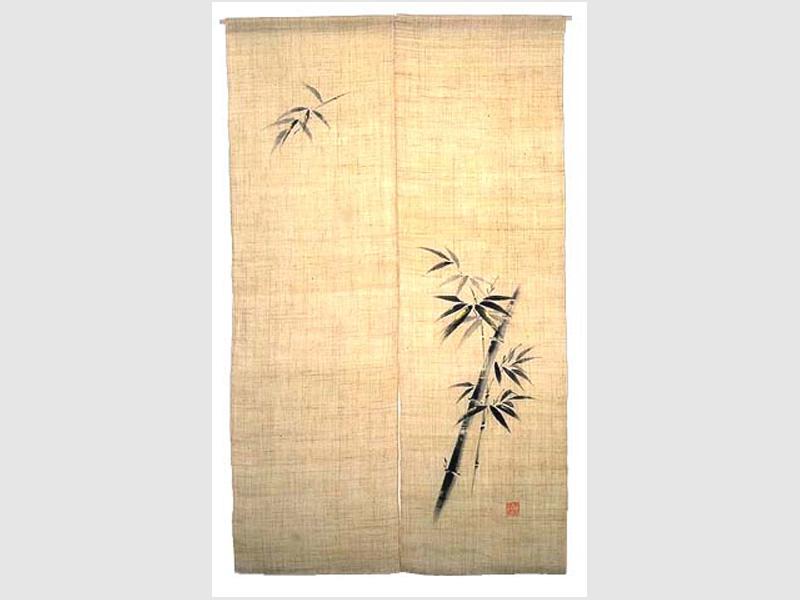 Noren schwarzer Bambus
