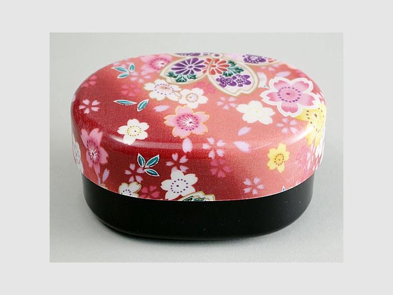 Lunchbox Nunobari Sakura rot