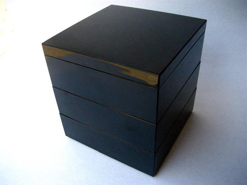3 Etagendose Kuro schwarz