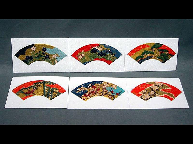 6 Briefkarten Sensu S