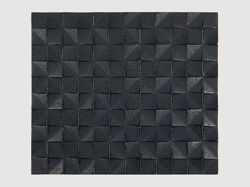 Grid Untersetzer, schwarz