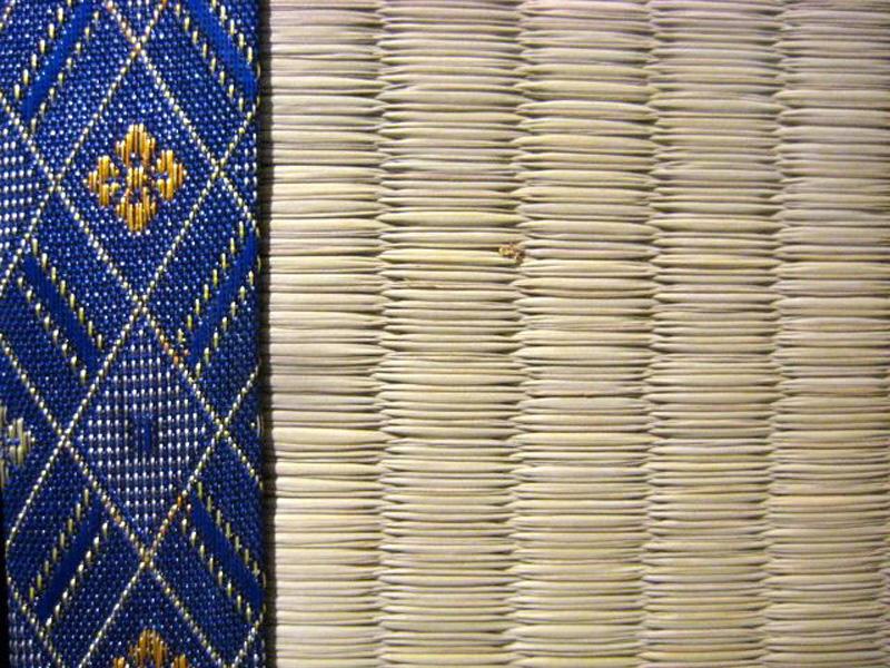 Tatami High Quality, farbiges Beri-blau-H 5,5 cm x B 90 cm x L 180 cm