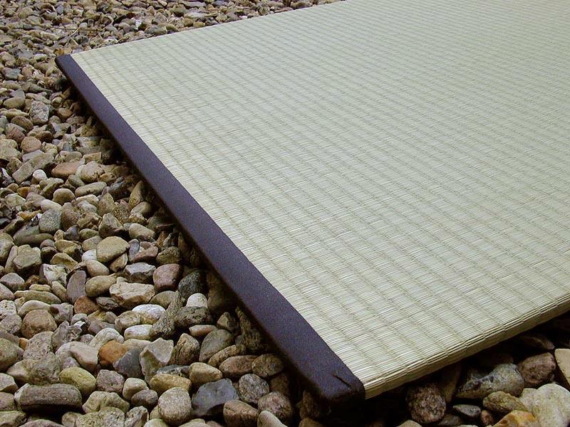 Teppich-Tatami-H 1,5 cm x B 60 cm x L 60 cm-schwarz