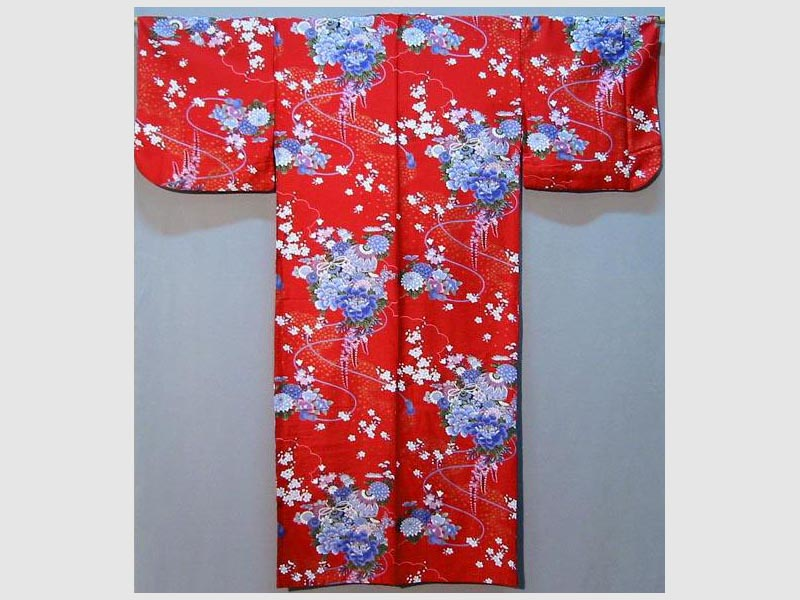Kimono Suzu rot