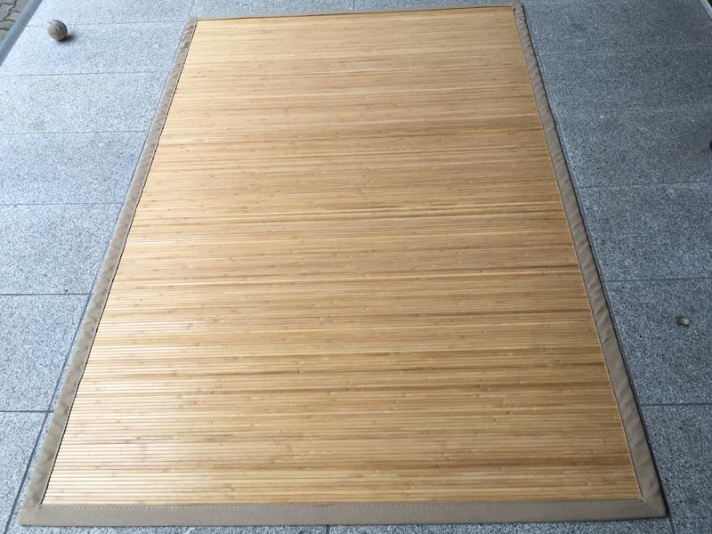 Bambusteppich-dunkelbraun-180 x 120 cm