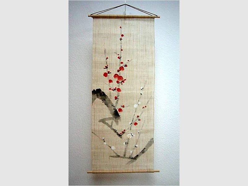 Wandbehang Ume