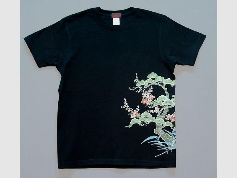 T-Shirt Matsu-schwarz-M