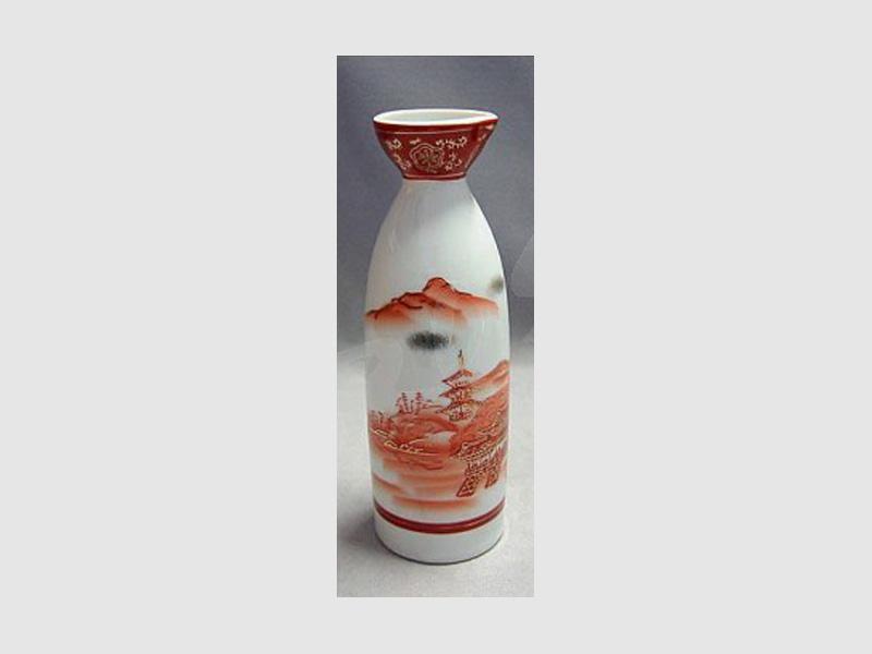 Sakeflasche Aka Sansui rot