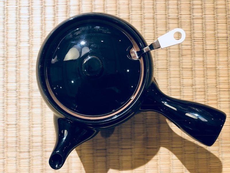 Teepot Kyusu nachtblau 400 ml