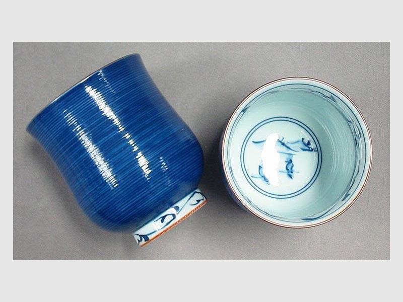 Teebecher Itome blau