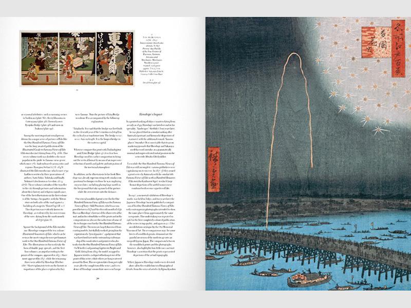 Bildband Hiroshige - Hundert berühmte Ansichten von Edo
