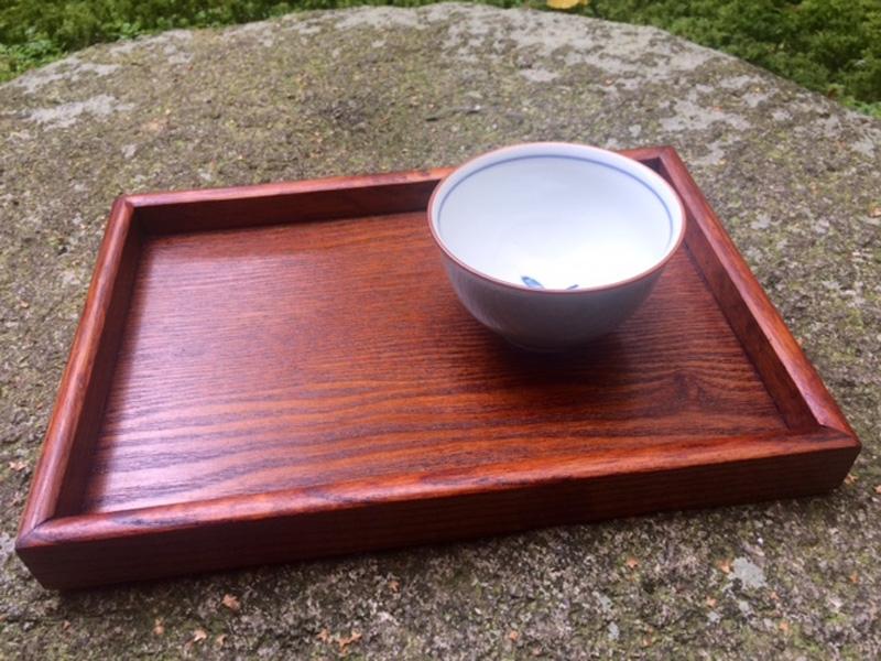 Tablett Holz natur 18 cm x 26 cm