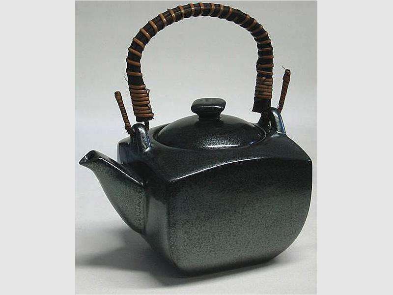 Teepot schwarz 0,6 l