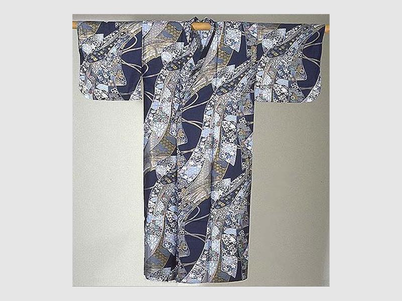 Kimono Ribbon blau