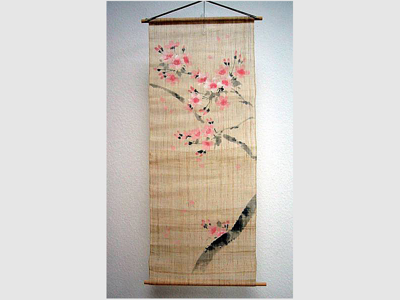 Wandbehang Sakura