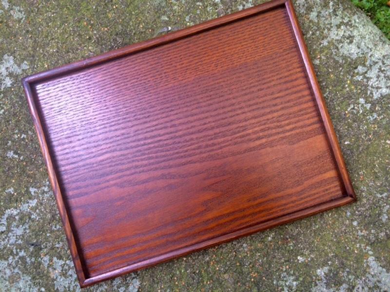 Tablett Holz natur 30 cm x 39 cm