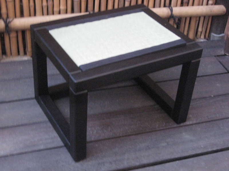 Tatamibank 49 x 39 x 35 cm H, schwarz