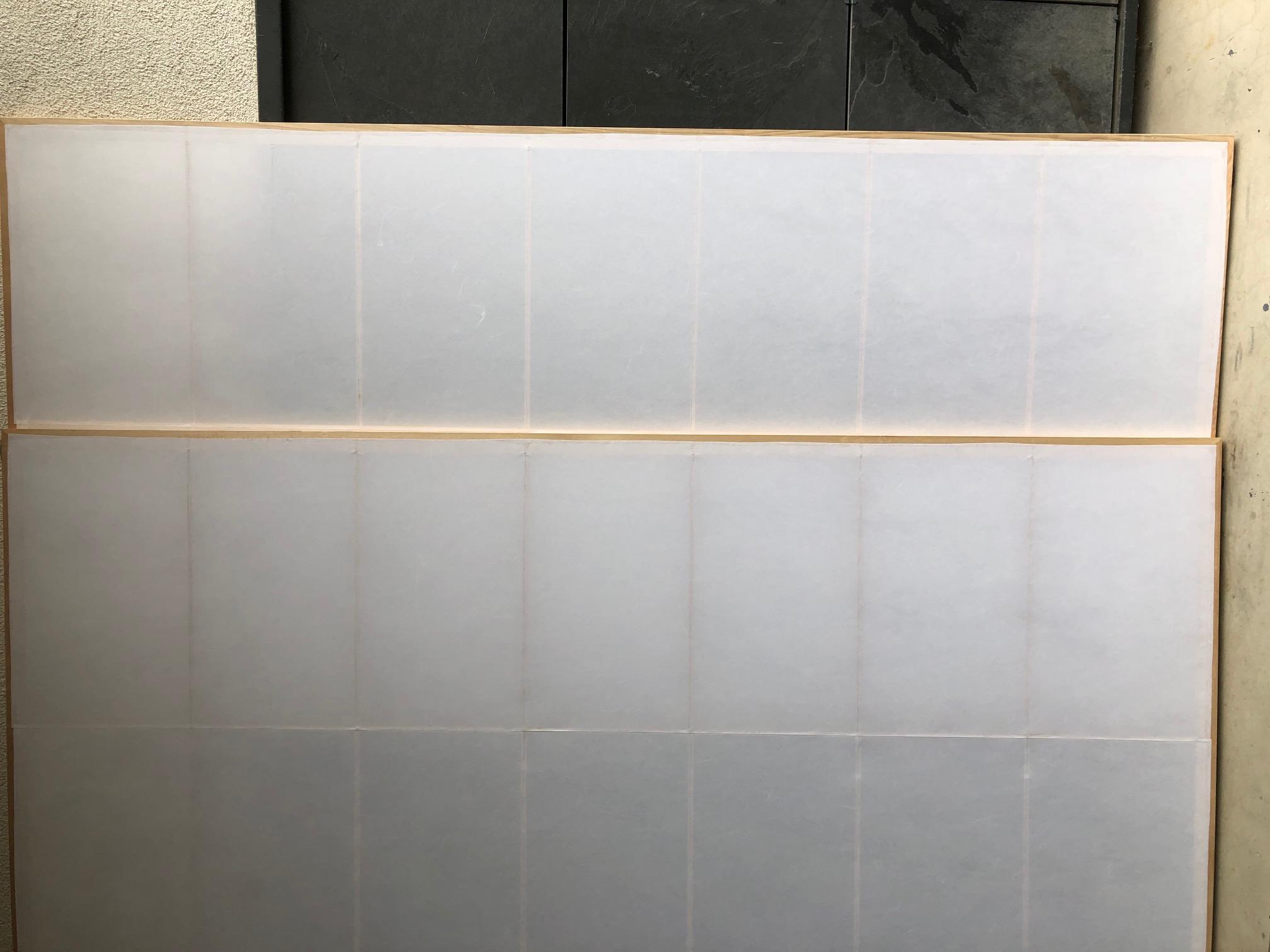 Shoji Classic mit Mittelsproße LB 243cm H 250cm neuwertig