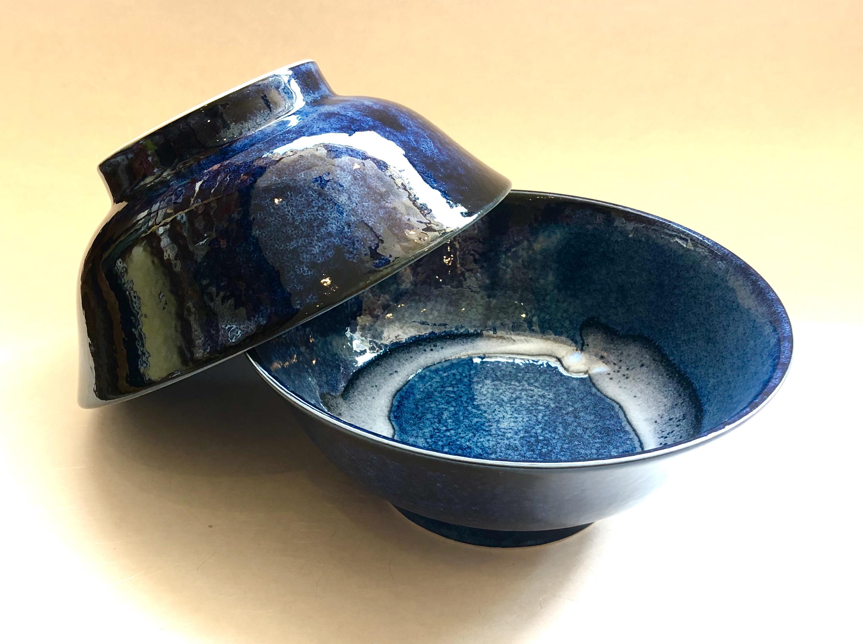 Ramen-schale blau