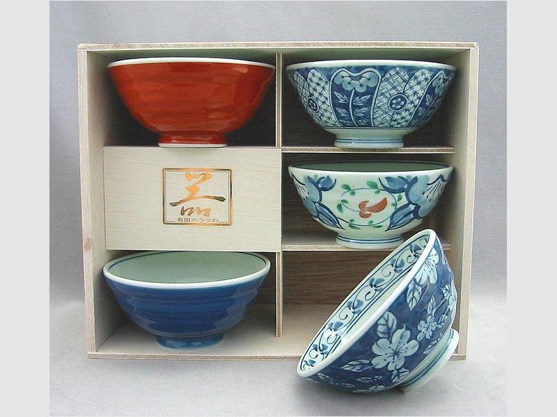5 Reisschalen Yusai