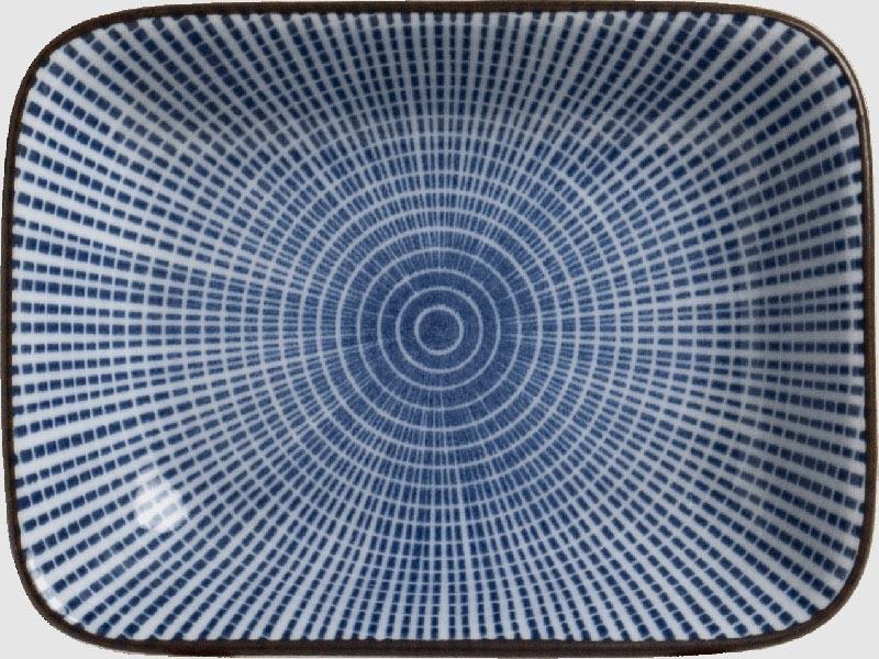 """""""Blaustrich"""" Sojasaucen-Schälchen 9 cm x 7 cm"""