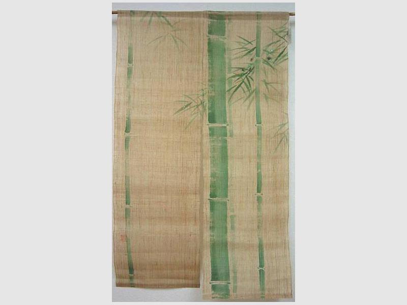 Noren Grüner Bambus