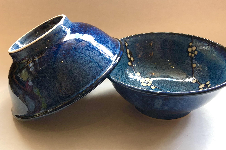 Ramen-schale sosshun blau