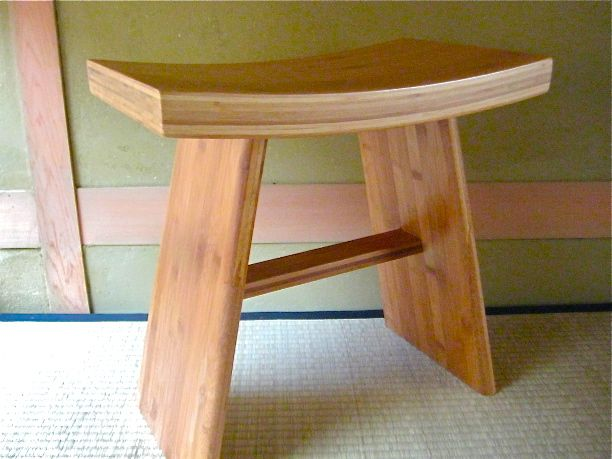 Bambus Hocker Torii II
