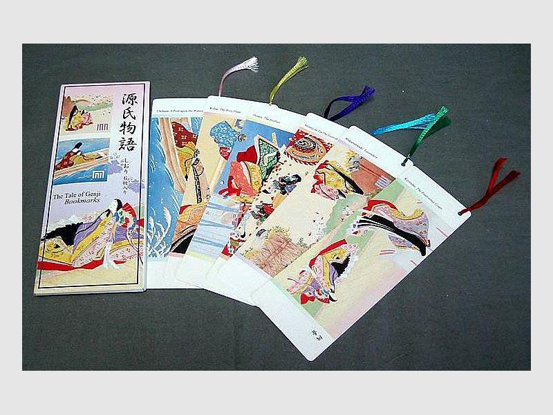 6 Lesezeichen Tale of Genji